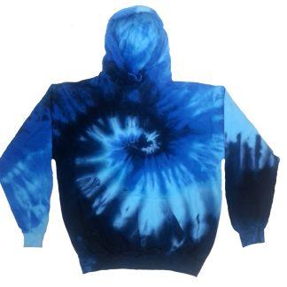Tie Dye Pull Over Hoodie Sweatshirts