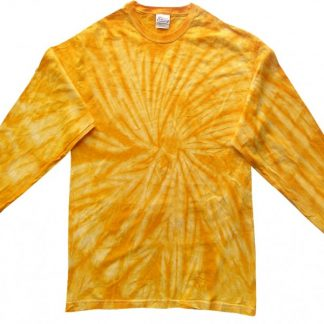 Long Sleeve Gold Spider