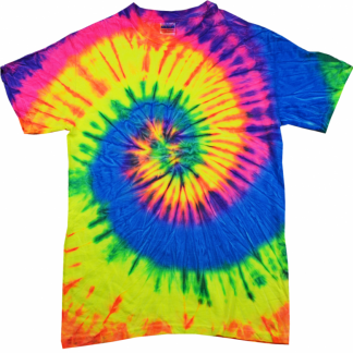 Tie Dye Short Sleeve T-Shirts