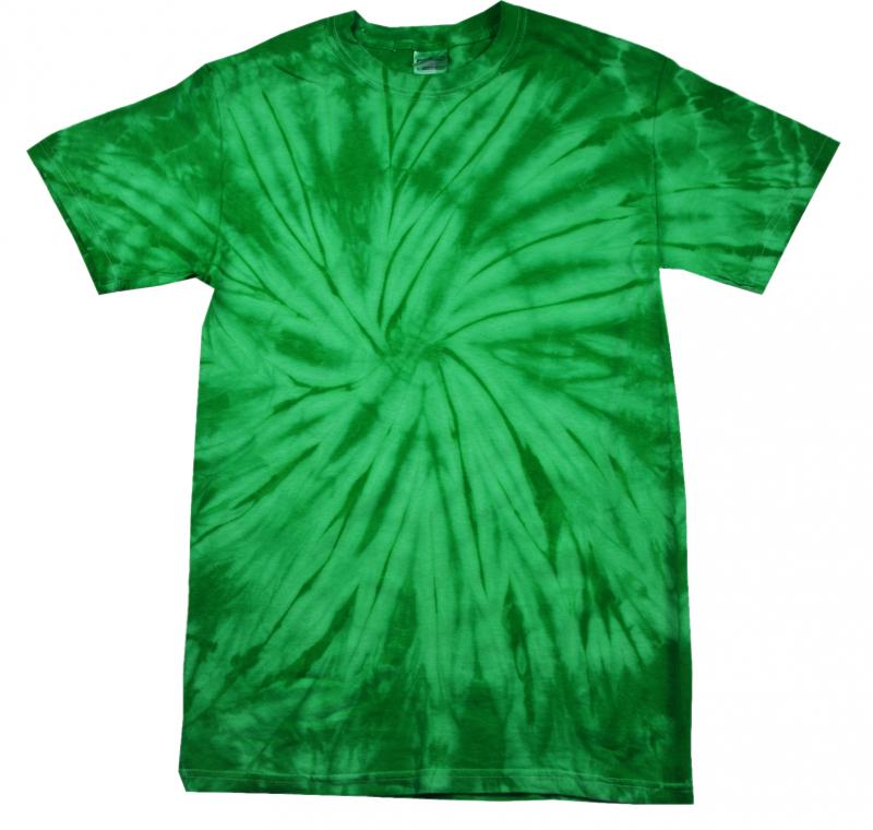 green kelly tie dye t shirt tie dye space