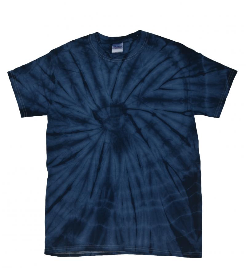 47e389a3951a7b Navy Spider Tie Dye T-Shirt