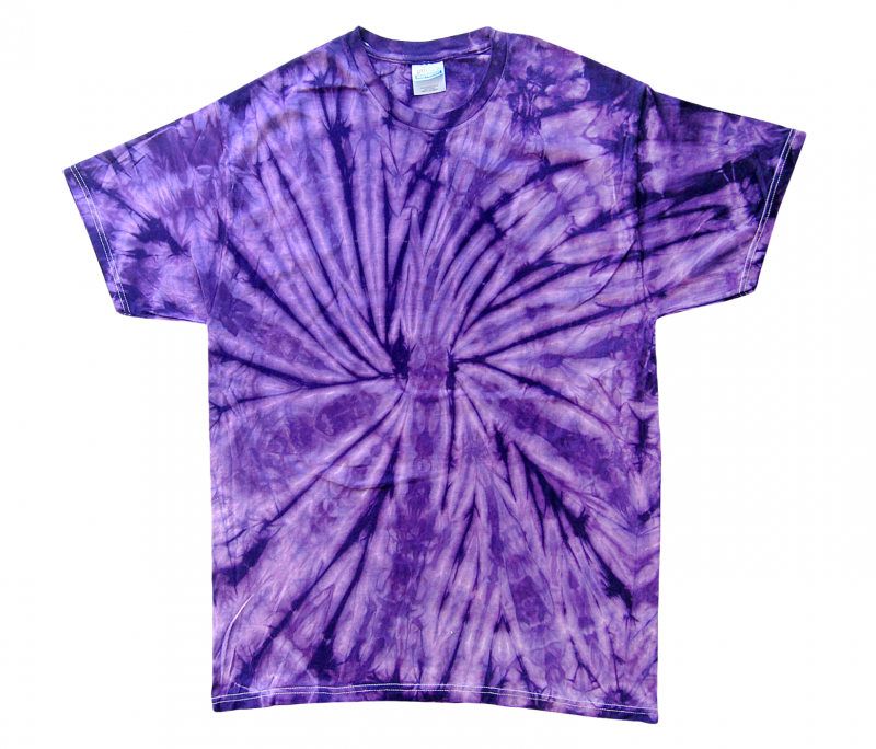 purple spider tie dye t shirt tie dye space. Black Bedroom Furniture Sets. Home Design Ideas