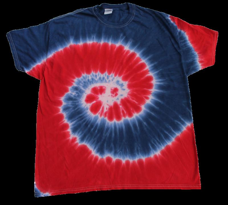 Red White Blue Tie Dye T Shirt Tie Dye Space