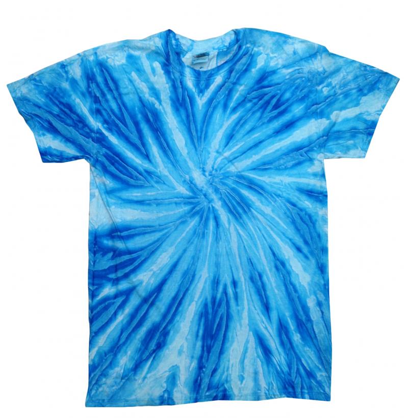 Twist Neon Blueberry Tie Dye T Shirt Tie Dye Space