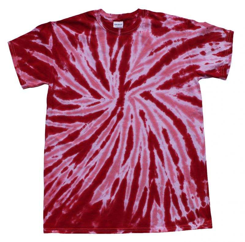 28392527afe Twist Red Tie Dye T-Shirt